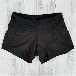 Lululemon Athletica Black Shorts Size 2